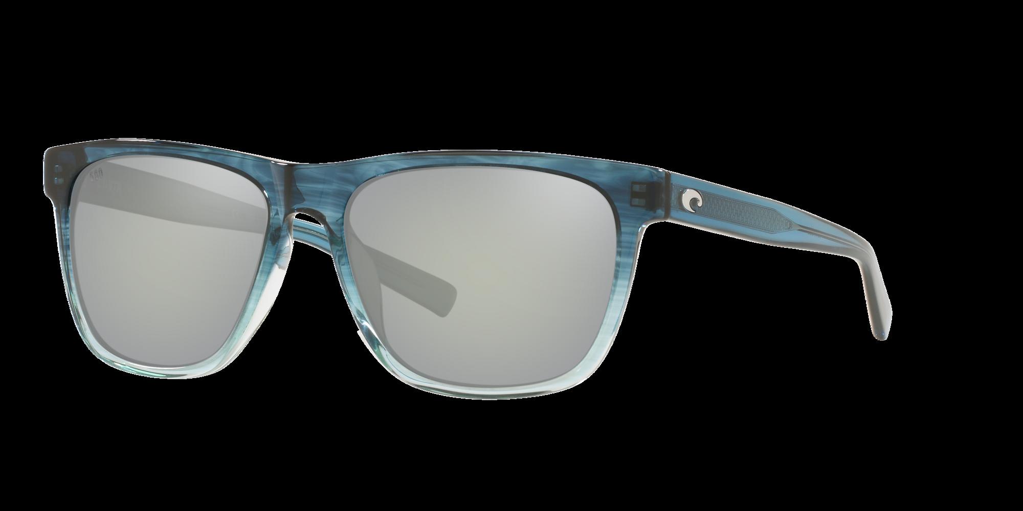 Costa Apalach Two Tone Plastic Frame Grey Lens Unisex Sunglasses APA238OGGLP