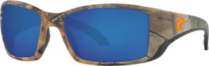 Realtree Xtra Camo Orange Logo - Blue Mirror