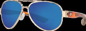 Rose Gold - Blue Mirror