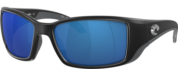 black fishing sunglasses wraparound