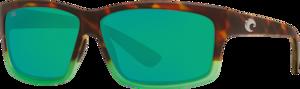 Matte Tortuga Fade - Green Mirror
