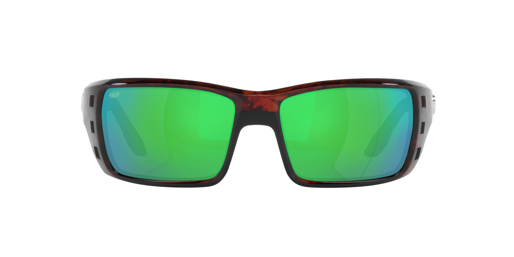 NEW Costa Permit Global Fit Sunglasses Tortoise Green Mirror 580P Plastic PT10GF