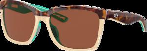 Shiny Retro Tort/Cream/Mint - Copper