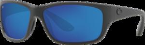 Matte Gray - Blue Mirror