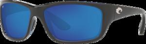 Shiny Black - Blue Mirror