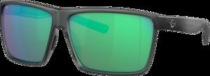 Matte Smoke Crystal - Green Mirror