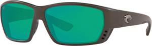 Matte Steel Gray Metallic - Green Mirror