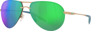 Matte Champagne - Green Mirror