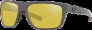 Matte Gray - Sunrise Silver Mirror