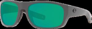 Matte Gray - Green Mirror