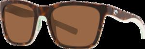 Shiny Tortoise/White/Seafoam Crystal - Copper