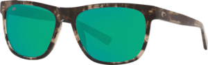 Shiny Black Kelp - Green Mirror
