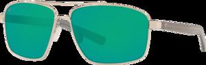 Silver - Green Mirror