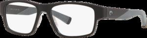Matte Black / Gray Rubber - Demo Lens