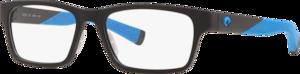 Matte Black / Blue Rubber - Demo Lens
