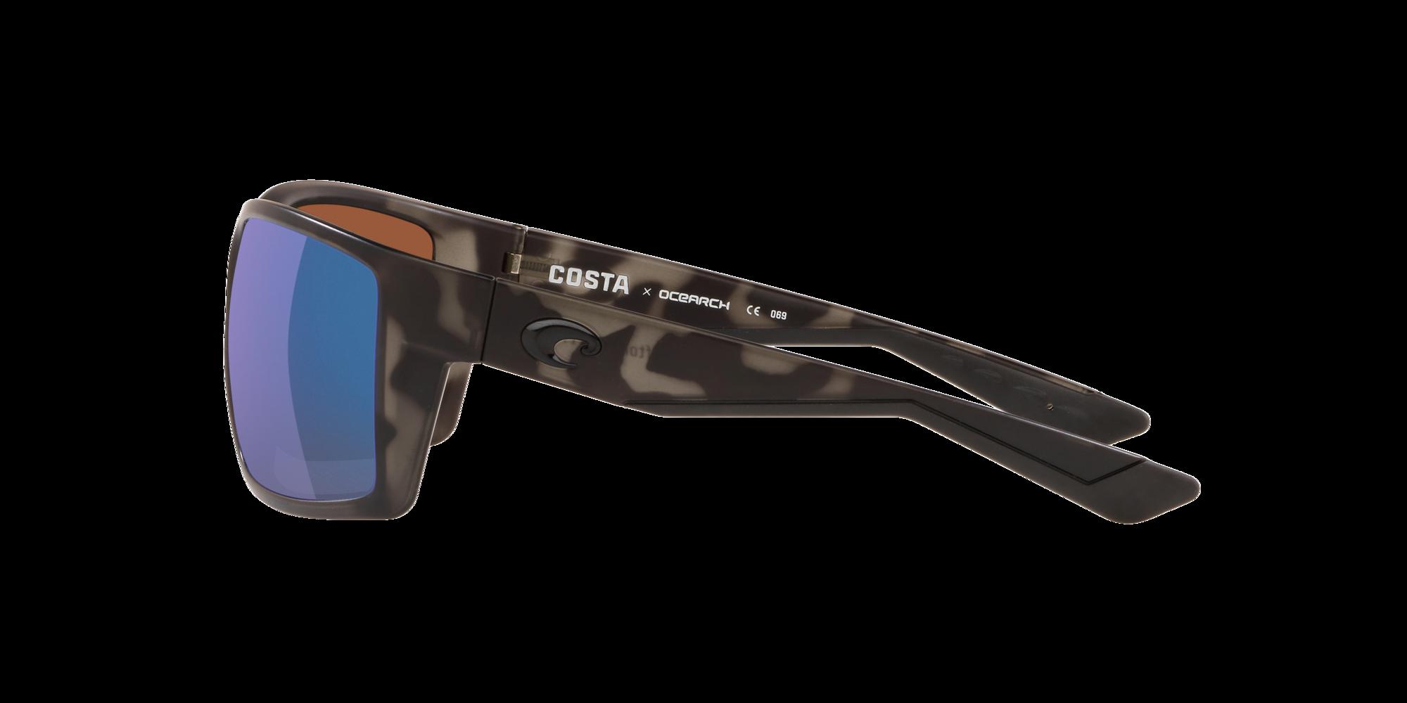 Blue Mirror 580 Glass 580G Costa Del Mar Reefton OCEARCH Tiger Shark NEW