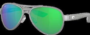 Ocearch Brushed Silver - Espejeado Verde