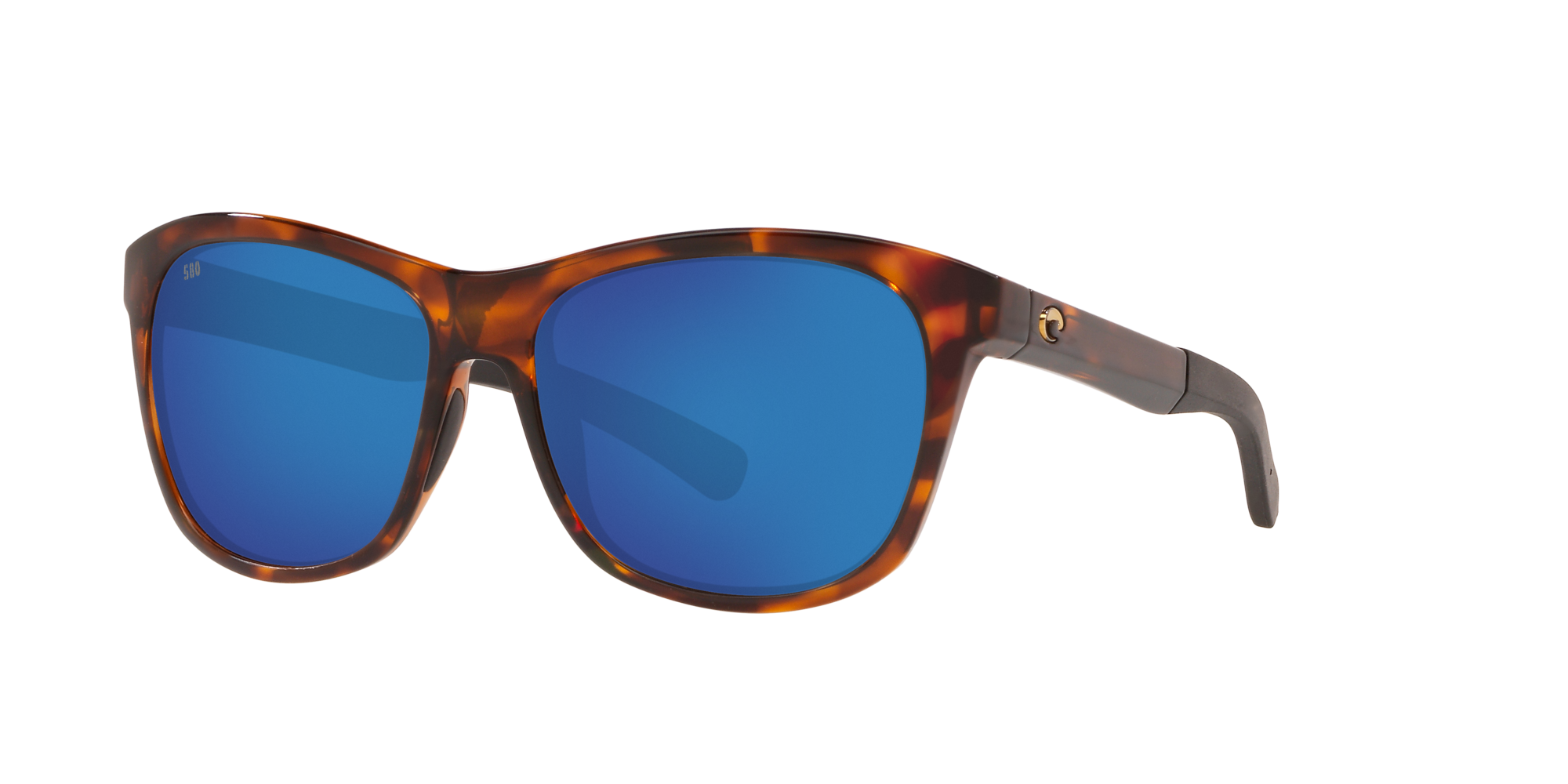 Costa Del Mar Vela Sunglasses VLA-10-OBMP TortoiseBlue Mirror 580P Polarized