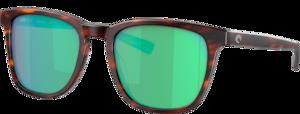 Matte Tortoise - Green Mirror
