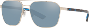 Brushed Silver - Grey Silver Mirror