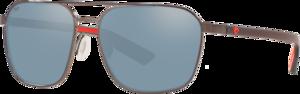 Shiny Dark Gunmetal - Grey Silver Mirror