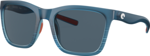 Matte Blue Fade - Grey