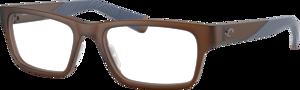 Translucent Dark Brown - Demo Lens